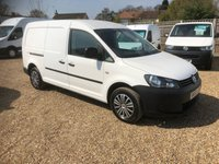 USED 2013 63 VOLKSWAGEN CADDY MAXI 1.6 C20 TDI STARTLINE BLUEMOTION TECHNOLOGY 1d 101 BHP AIR CONDITIONING * SAT/NAV * FULL VW SERVICE HISTORY *