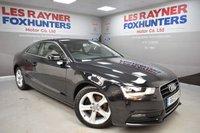 USED 2013 AUDI A5 2.0 TDI SE 2d 161 BHP Cheap Tax, Great MPG, Sat Nav, Leather interior