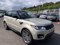 USED 2014 14 LAND ROVER RANGE ROVER SPORT 3.0 SDV6 HSE DYNAMIC 5d AUTO 288 BHP One owner with 7 seats, rear entertainment, panoramic sunroof, FSH ++