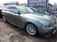 2007 BMW 5 SERIES 3.0 525D M SPORT TOURING 5d AUTO 195 BHP £4995.00