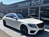 USED 2016 16 MERCEDES-BENZ S CLASS S63 AMG L EXECUTIVE 4d AUTO 585 BHP