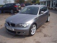 2010 BMW 1 SERIES 2.0 118D M SPORT 5d 141 BHP £4295.00