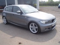 USED 2010 BMW 1 SERIES 2.0 118D M SPORT 5d 141 BHP