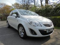 USED 2013 62 VAUXHALL CORSA 1.2 ACTIVE 3d 83 BHP *** IDEAL FIRST CAR ***