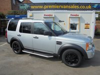 2008 LAND ROVER DISCOVERY 3 2.7  COMMERCIAL XS  AUTO 188 BHP  UTIL Y COMMERCIAL   ONE COMPANY OWNER   VERY CLEAN 4X4  FITTED WITH TOW BAR STROBE ROOF BEACON   SIDE STEPS ALLOYS  £5995.00