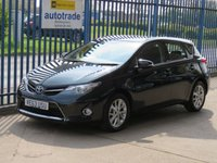 USED 2014 63 TOYOTA AURIS 1.6 ICON VALVEMATIC 5d Park camera DAB Bluetooth & audio Finance arranged Part exchange available Open 7 days
