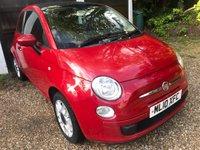 2010 FIAT 500 1.2 C POP 3d 69 BHP £3195.00