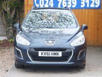 USED 2011 61 PEUGEOT 308 1.6 SW ACCESS 5d AUTO 120 BHP FSH, AIR CON, REAR SENSORS