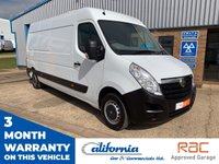 USED 2015 64 VAUXHALL MOVANO 2.3 F3500 L3H2 P/V CDTI 1d 123 BHP 1 OWNER  3 MONTH WARRANTY