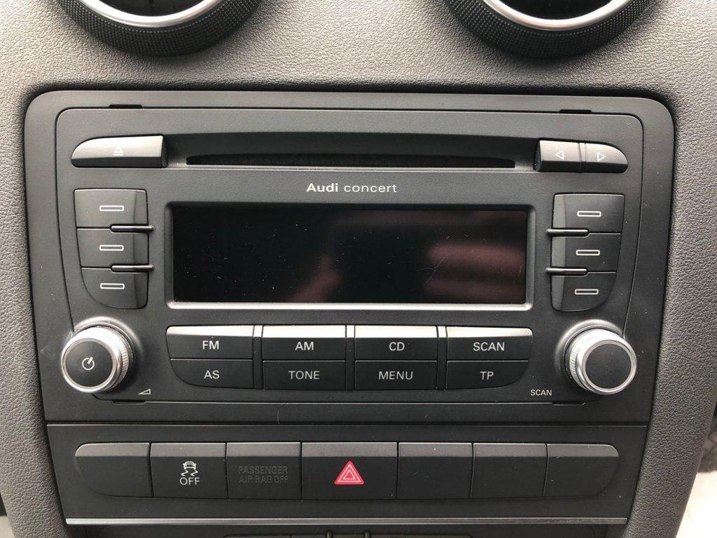 2010 Audi A3 Sportback Mpi Technik £5,995