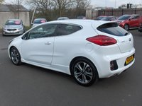 USED 2016 16 KIA CEED 1.0 PRO CEED GT-LINE ISG 3d 118 BHP BALANCE OF MANUFACTURERS SEVEN YEAR WARRANTY
