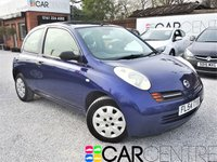 USED 2004 54 NISSAN MICRA 1.2 S 3d AUTO 80 BHP 1 OWNER FROM NEW + FSH