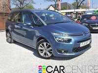 USED 2016 16 CITROEN C4 GRAND PICASSO 1.6 BLUEHDI EXCLUSIVE 5d AUTO 118 BHP 1 OWNER FROM NEW + FSH