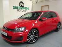 2015 VOLKSWAGEN GOLF 2.0 TDI BlueMotion Tech GTD 5dr £10990.00