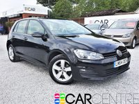 USED 2014 64 VOLKSWAGEN GOLF 1.6 MATCH TDI BLUEMOTION TECHNOLOGY 5d 103 BHP 1 OWNER + FULL SERV HISTORY