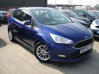 USED 2017 17 FORD C-MAX 1.0 ZETEC 5d 100 BHP ANY PART EXCHANGE WELCOME, COUNTRY WIDE DELIVERY ARRANGED, HUGE SPEC
