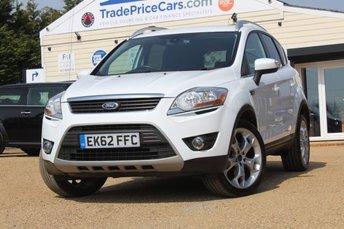 2012 FORD KUGA 2.0 TITANIUM TDCI 2WD 5d 138 BHP £8495.00