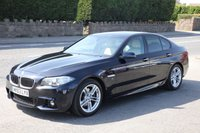 USED 2013 63 BMW 5 SERIES 2.0 520D M SPORT 4d AUTO 181 BHP Finance Options Available - Good Credit / Bad Credit
