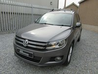 USED 2013 13 VOLKSWAGEN TIGUAN 2.0 SE TDI BLUEMOTION TECHNOLOGY 4MOTION 5d 138 BHP 1 PREV OWNER 4 MOTION