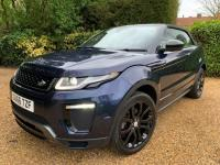 USED 2016 66 LAND ROVER RANGE ROVER EVOQUE 2.0 TD4 HSE Dynamic 4WD (s/s) 2dr 1 OWNER + BLACK PACK