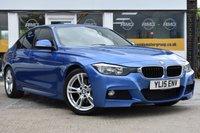2015 BMW 3 SERIES 3.0 330D M SPORT 4d AUTO 255 BHP £17999.00