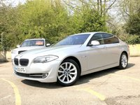 2010 BMW 5 SERIES 3.0 525D SE 4d AUTO 202 BHP, FULL HEATED LEATHER, SAT NAV  £8690.00