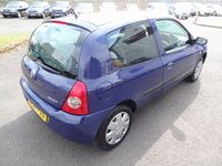 USED 2007 07 RENAULT CLIO 1.1 CAMPUS 8V 3d 58 BHP One Years MOT for New Owner