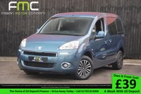 USED 2013 13 PEUGEOT PARTNER 1.6 HDI TEPEE S 5d 92 BHP Wheelchair Ramp and Electric Winch
