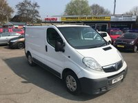 2007 VAUXHALL VIVARO 2.0 2700CDTI SWB SHR 1d 114 BHP IN METALLIC WHITE WITH 180,000 MILES IN GOOD CONDITION.(TRADE CLEARANCE) £1450.00