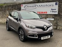 USED 2015 15 RENAULT CAPTUR 1.5 DYNAMIQUE S MEDIANAV ENERGY DCI S/S 5d 90 BHP FINANCE AVAILABLE+SATELLITE NAVIGATION+CRUISE CONTROL