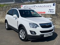 USED 2015 65 VAUXHALL ANTARA 2.2 EXCLUSIV CDTI S/S 5d 161 BHP FINANCE AVAILABLE+AIR CONDITIONING+SERVICE HISTORY