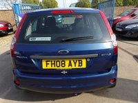 USED 2008 08 FORD FIESTA 1.2 STYLE CLIMATE 16V 5d 78 BHP NEW MOT, SERVICE & WARRANTY