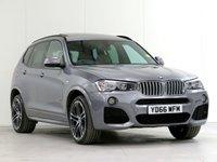 2016 BMW X3 3.0 XDRIVE35D M SPORT 5d AUTO 309 BHP £27686.00
