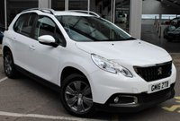 USED 2016 16 PEUGEOT 2008 1.2 PURETECH ACTIVE 5d 82 BHP * LOVELY LOW MILEAGE * £30 TAX