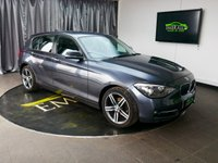 USED 2011 61 BMW 1 SERIES 2.0 118D SPORT 5d 141 BHP £0 DEPOSIT FINANCE AVAILABLE, AIR CONDITIONING, AUX INPUT, BMW PROFESSIONAL, CLIMATE CONTROL, DRIVE PERFORMANCE CONTROL, REAR PARKING SENSORS,  SPEED LIMITER, START/STOP SYSTEM, STEERING WHEEL CONTROLS, TRIP COMPUTER