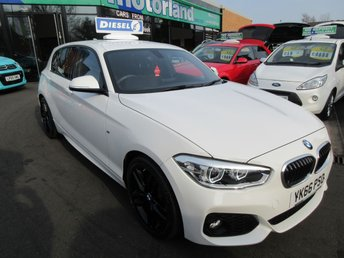 2016 BMW 1 SERIES 1.5 116D M SPORT 5d 114 BHP £13000.00