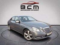 2011 MERCEDES-BENZ E CLASS 2.1 E220 CDI BLUEEFFICIENCY SE 4d AUTO 170 BHP £8485.00