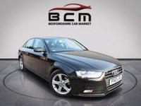 2012 AUDI A4 2.0 TDI SE 4d AUTO 141 BHP £8485.00