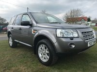 USED 2007 07 LAND ROVER FREELANDER 2.2 TD4 XS 5d 159 BHP 4x4 only 86000 miles hard to find this clean
