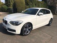 2012 BMW 1 SERIES 2.0 116D SPORT 3d 114 BHP £8495.00
