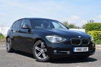 2012 BMW 1 SERIES 1.6 118I SPORT 5d AUTO 168 BHP £9900.00