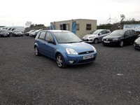 2003 FORD FIESTA 1.4 5d  £SOLD