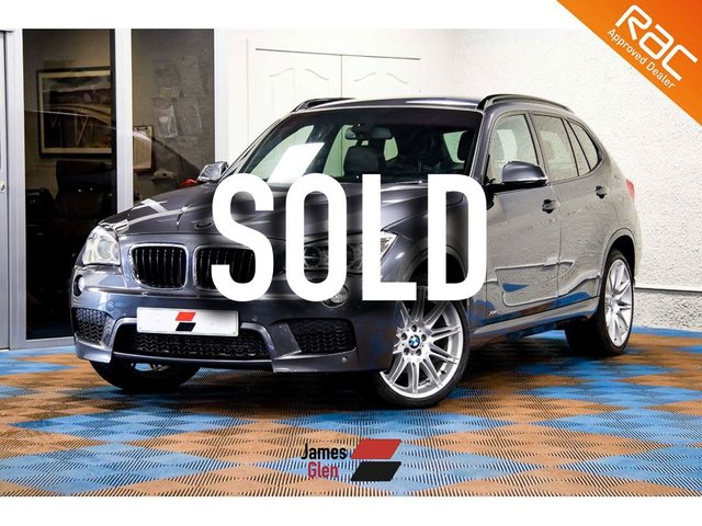USED 2013 63 BMW X1 2.0 XDRIVE20D M SPORT 5d AUTO 181 BHP Three Owners | Full BMW Dealer Service History - 3 Stamps