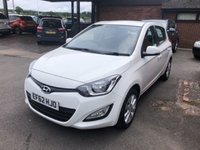 USED 2012 62 HYUNDAI I20 1.4 ACTIVE 5d AUTO 99 BHP AUTOMATIC AUTO, 2 OWNERS,ONLY 26K MILES