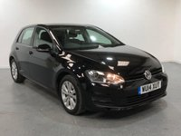 USED 2014 14 VOLKSWAGEN GOLF 1.6 SE TDI BLUEMOTION TECHNOLOGY 5d 103 BHP EXCELLENT FULL UP TO DATE S/H
