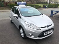 USED 2011 11 FORD FIESTA 1.2 ZETEC 5d 81 BHP Buy with confidence from a garage that has been established  for 26 years.SERV