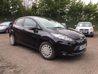 USED 2012 62 FORD FIESTA 1.6 TDCi EDGE ECONETIC II 5d WITH AIRCON AND FREE ROAD TAX NO DEPOSIT  FINANCE ARRANGED, APPLY HERE NOW