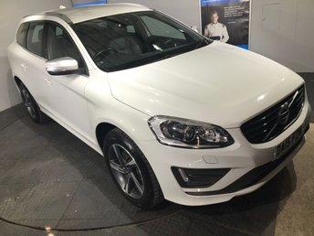 2015 VOLVO XC60 2.4 D5 R-DESIGN LUX NAV AWD 5d AUTO 212 BHP £16995.00
