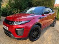 USED 2017 17 LAND ROVER RANGE ROVER EVOQUE 2.0 TD4 HSE Dynamic 4WD (s/s) 2dr 1 OWNER FROM NEW