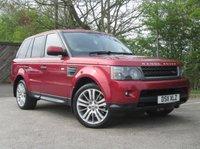 2011 LAND ROVER RANGE ROVER SPORT 3.0 TDV6 HSE 5d AUTO 245 BHP £12450.00